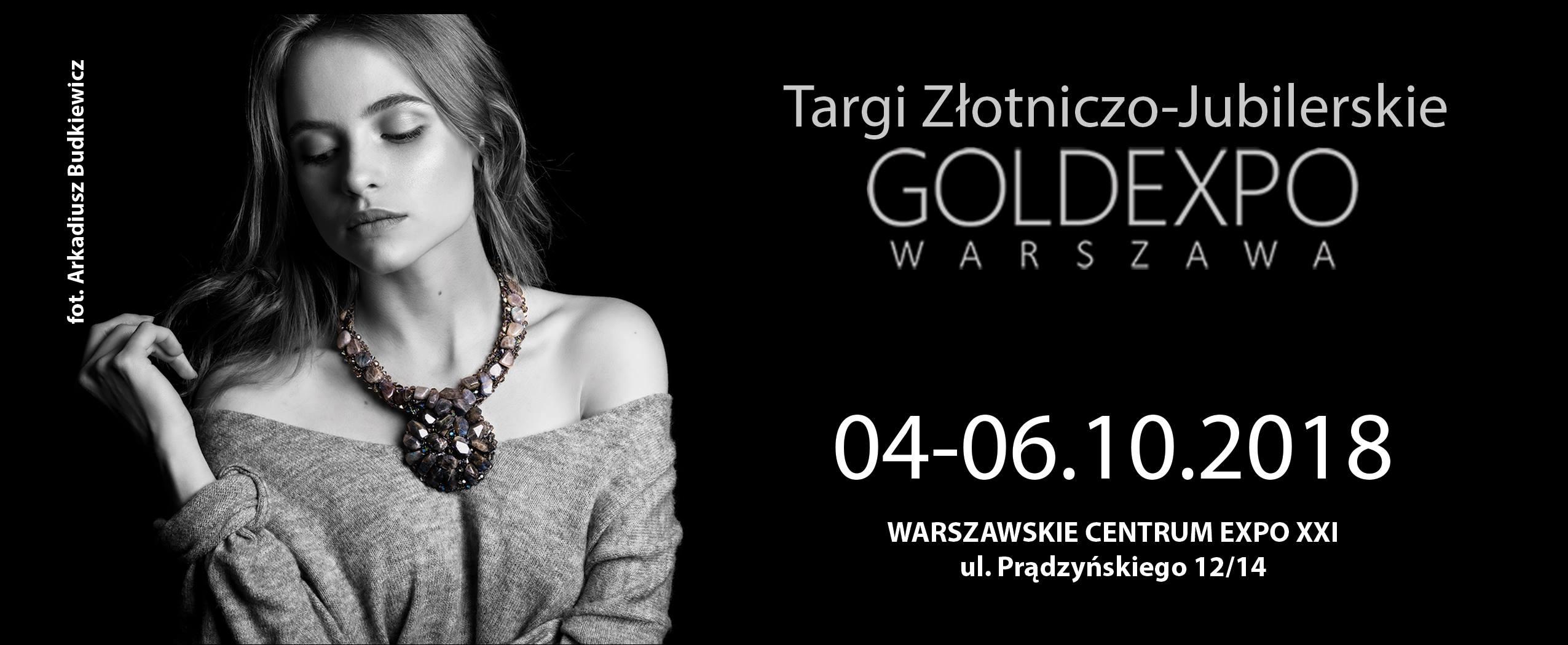 Targi GOLDEXPO 2018 / Warszawa